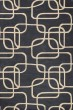 Product Image of Contemporary / Modern Grey, Ivory (62) Area Rug