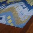 Product Image of Sky Blue, Denim Blue, Camel (17) Ikat Area Rug