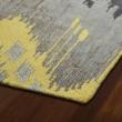 Product Image of Grey, Yellow, Steel Grey (75) Ikat Area Rug