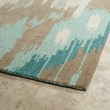 Product Image of Mint, Light Brown, Beige (88) Ikat Area Rug