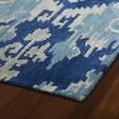 Product Image of Denim Blue, Light Grey, Light Blue (10) Ikat Area Rug