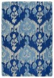 Product Image of Bohemian Denim Blue, Light Grey, Light Blue (10) Area Rug