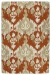 Product Image of Bohemian Orange, Beige, Light Brown (53) Area Rug