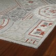 Product Image of Pewter, Sage Green Dark Ivory (73) Transitional Area Rug