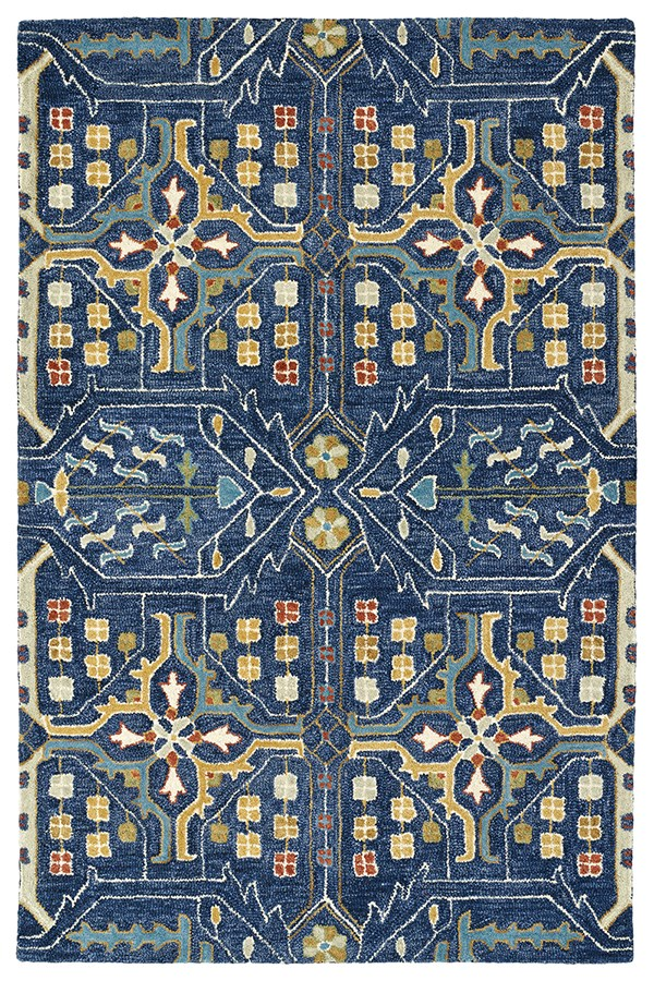 Navy, Denim, Turquoise, Camel, Spring Green (22) Bohemian Area Rug