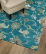 Product Image of Turquoise, Brown, Sage (78) Traditional / Oriental Area Rug