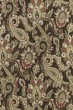 Product Image of Paisley Chocolate, Sage, Red (40) Area Rug