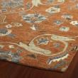 Product Image of Paprika, Linen, Steel Blue, Mushroom (53) Traditional / Oriental Area Rug