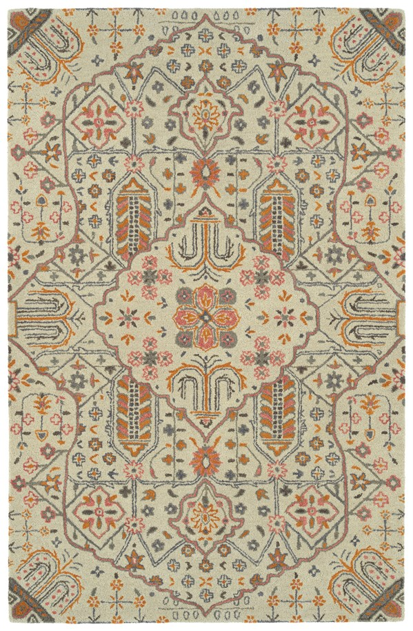 Ivory (01) Transitional Area Rug