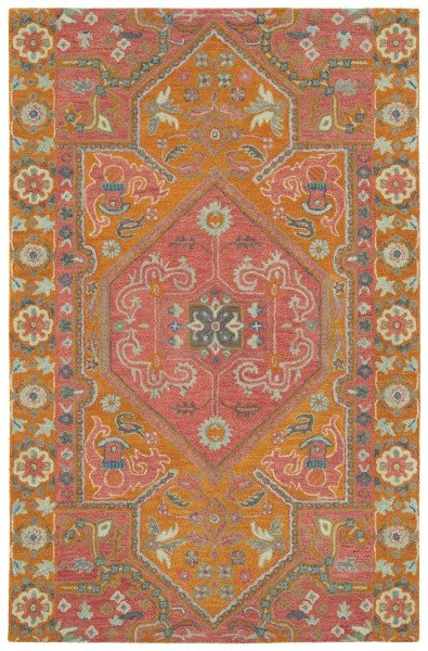 Pink (92) Transitional Area Rug