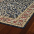 Product Image of Blue, Brick Red, Ivory (17) Traditional / Oriental Area Rug