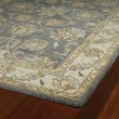 Product Image of Pewter, Olive Green, Beige (73) Traditional / Oriental Area Rug
