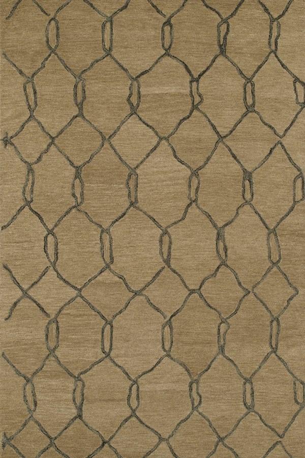 Light Brown, Cappucino (82) Moroccan Area Rug
