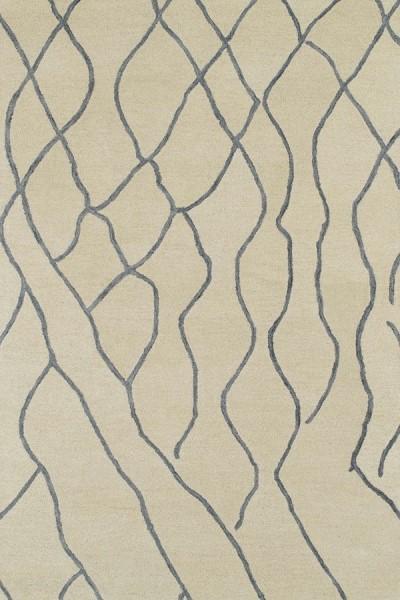 Ivory, Sky Blue (01) Southwestern / Lodge Area Rug