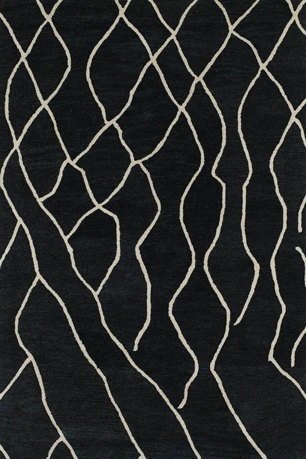Charcoal, Ivory (38) Southwestern / Lodge Area Rug