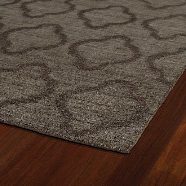 Chocolate (40) Textured Solid Area Rug