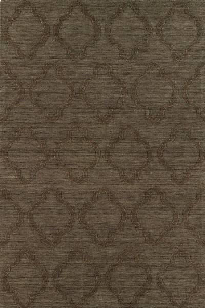 Chocolate (40) Solid Area Rug