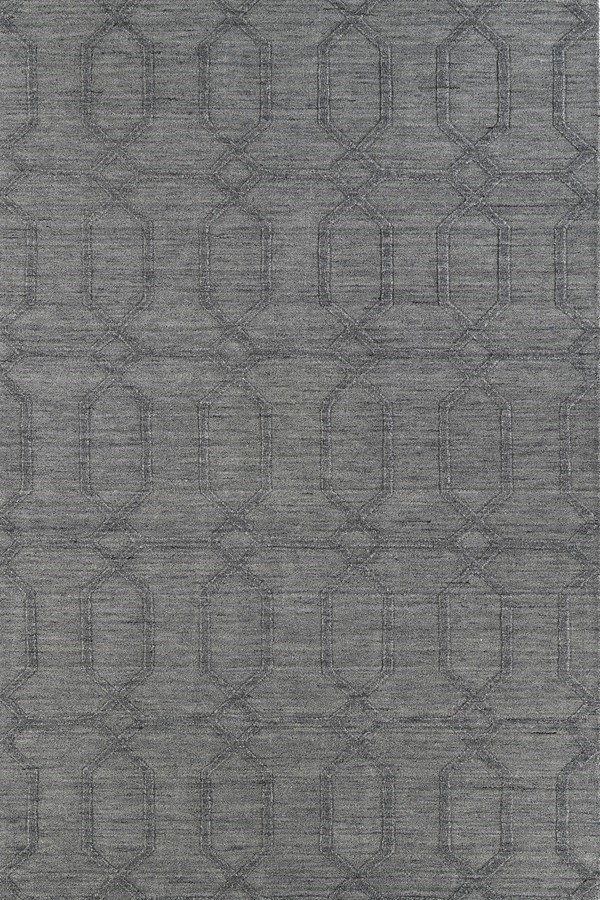 Grey (75) Textured Solid Area Rug