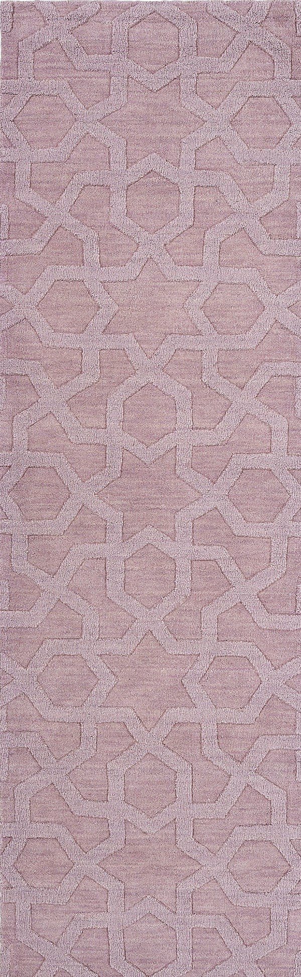 Lilac (90) Textured Solid Area Rug