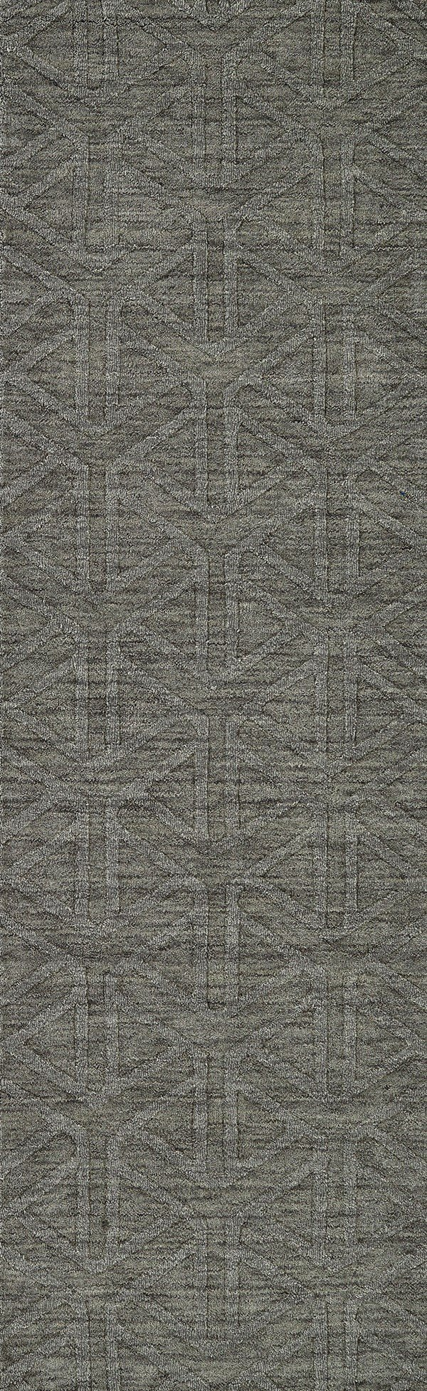 Charcoal (38) Textured Solid Area Rug