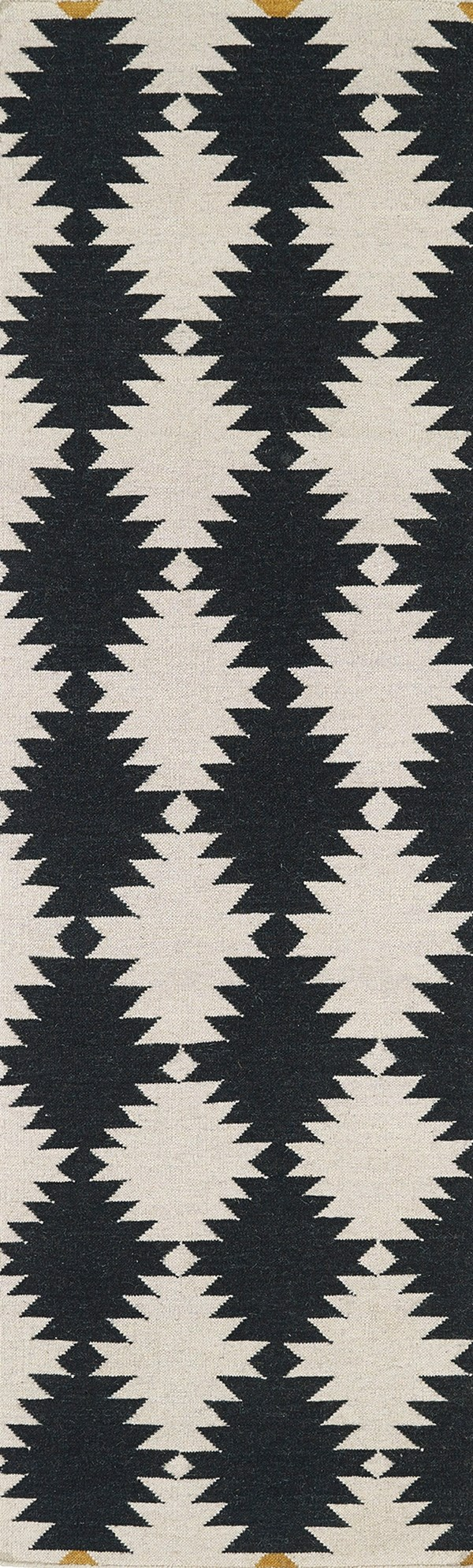 Black, Beige (02) Southwestern / Lodge Area Rug