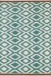 Product Image of Southwestern Turquoise, Ivory, Paprika (78) Area Rug
