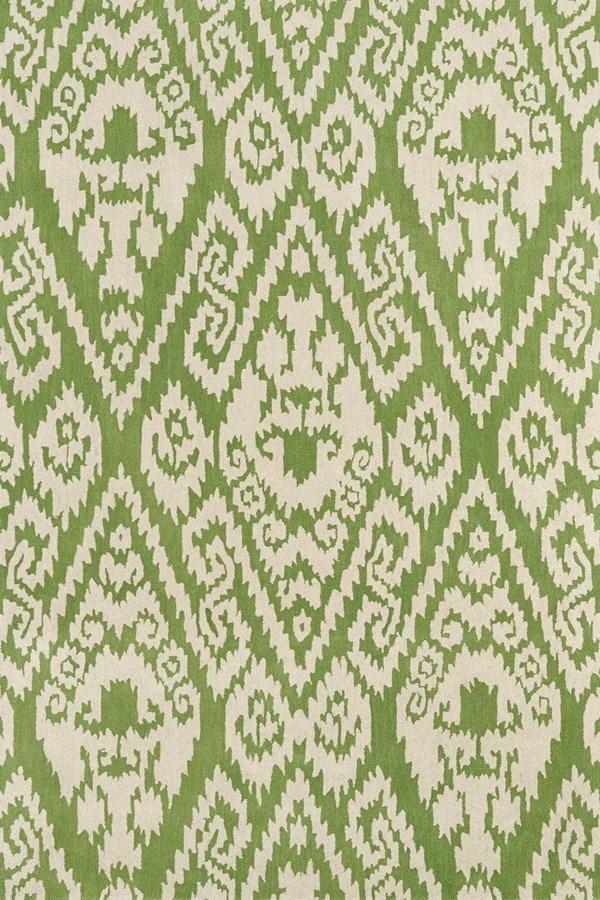 Green, Ivory (50) Damask Area Rug