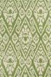 Product Image of Green, Ivory (50) Damask Area Rug