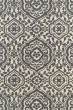 Product Image of Contemporary / Modern Charcoal, Ivory (75) Area Rug