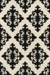 Product Image of Traditional / Oriental Black, Ivory (02) Area Rug