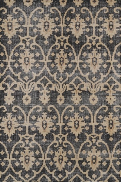 Charcoal, Light Brown, Milk Chocolate Brown (02) Moroccan Area Rug