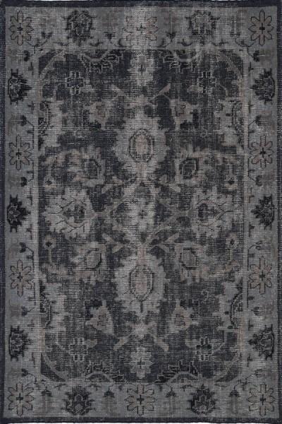 Black, Midnight, Mocha, Olive (02) Traditional / Oriental Area Rug