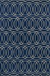 Product Image of Contemporary / Modern Navy, Ivory (22) Area Rug