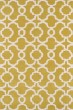 Product Image of Contemporary / Modern Yellow, Ivory (28) Area Rug