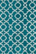 Product Image of Moroccan Teal, Ivory (91) Area Rug