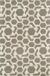 Product Image of Contemporary / Modern Grey, Ivory (75) Area Rug