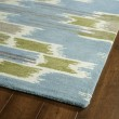 Product Image of Wasabi, Sky Blue, Grey (70) Transitional Area Rug