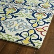 Product Image of Green, Navy, Ivory (86) Transitional Area Rug