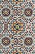 Product Image of Ivory, Brick Red, Navy (01) Mandala Area Rug