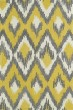 Product Image of Contemporary / Modern Yellow, Grey, Ivory (28) Area Rug