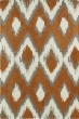 Product Image of Contemporary / Modern Paprika, Grey, Ivory (53) Area Rug