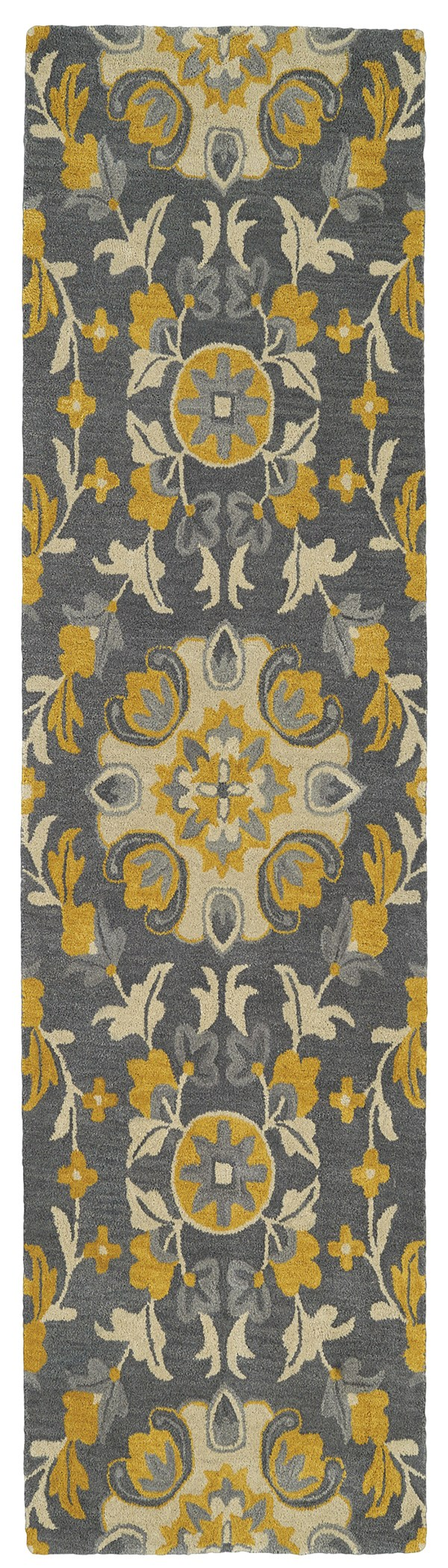 Grey (75) Transitional Area Rug