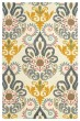 Product Image of Traditional / Oriental White, Yellow (86) Area Rug