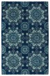 Product Image of Contemporary / Modern Navy (22) Area Rug