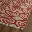 Product Image of Red, Natural Fiber (25) Transitional Area Rug