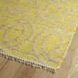 Product Image of Yellow, Natural Fiber (28) Transitional Area Rug