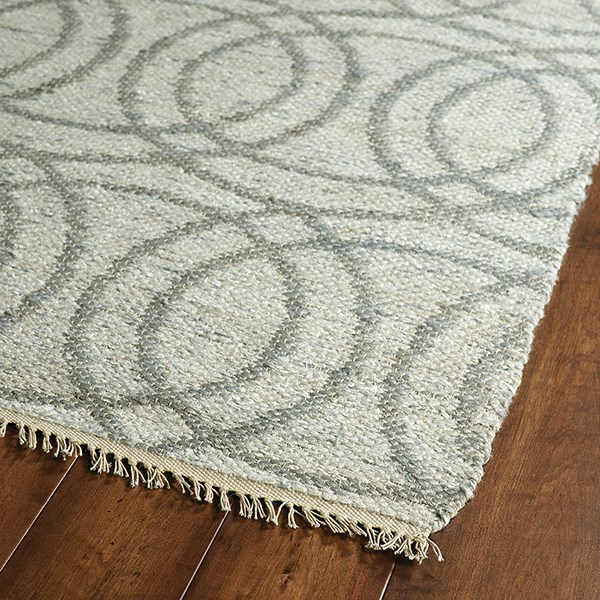 Grey, Natural Fiber (75) Transitional Area Rug
