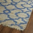 Product Image of Blue, Natural Fiber (17) Moroccan Area Rug