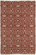 Product Image of Contemporary / Modern Red, Natural Fiber (25) Area Rug