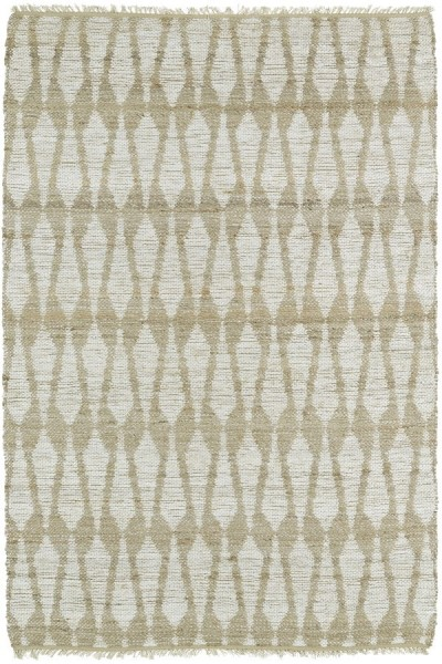Ivory, Natural Fiber (01) Transitional Area Rug